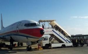 我公司160KW车载充电机服务于昆明机场云梯车