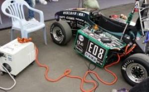 我公司大功率快速充电机助阵哈尔滨工业大学FSAE方程式赛车队