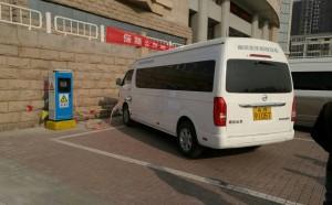 昊瑞昌负责承建北京汇佳私立学校直流充电桩交付