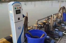 安徽池州码头供电桩投入使用
