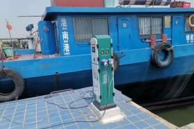 """福建首个渔港""""尝鲜""""低压岸电技术"""